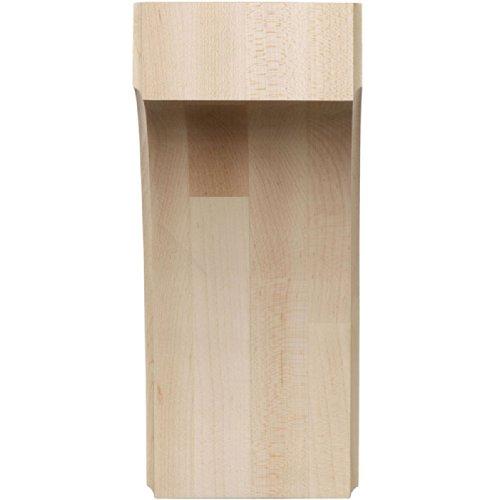 Ekena millwork bktw04x06x08cvrw 3 1 2 inch w by 6 inch d for 1 inch granite countertops