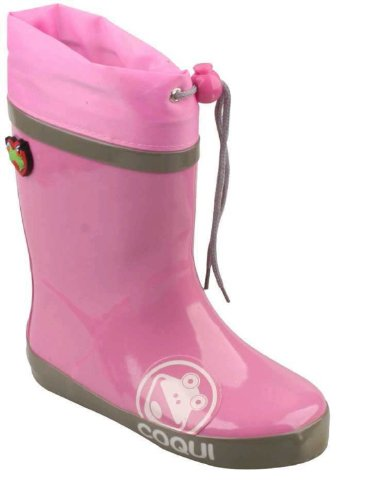 Coqui, Stivali bambine, (Pink/Grau), 30