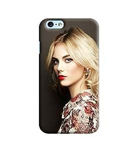 Blue Throat Hoprinted Designer Back Cover/Case For Apple iPhone 6 Plus