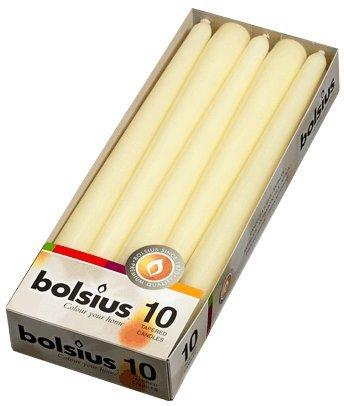 10-Bolsius-Bougies-coniques-anti-goutte-Idal-dner-et-cadeau-25-cm-75-heures-ivoire