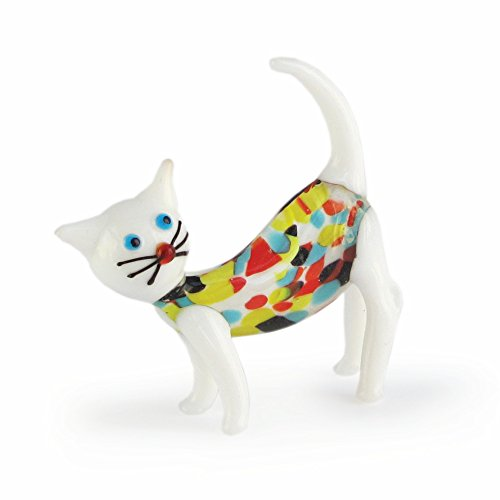 The Jay Companies Sybil Glass Cat Figurine (The Jay Companies compare prices)