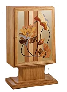 Orbita Ampelio Gorla 30 Watch Winder In Lacquered Wood With Inlaid Veneers
