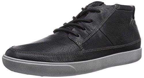 ECCO Gary Sneaker a Collo Alto, Uomo, Nero(Ombre 1415), 43