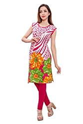 Kurti Studio Festive Rani Unstitched Cotton Kurti Dress Material