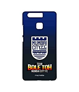 MCFC Slogan Blue - Sublime Case for Huawei P9