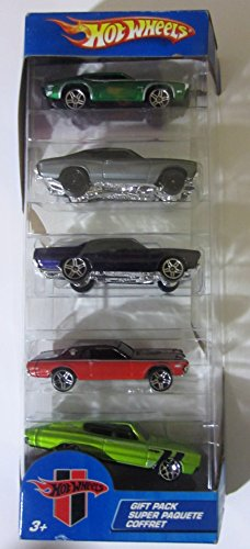 Hot Wheels Muscle Mania 5 Pack - Olds 442 W-30, '70 Roadrunner, '68 Cougar,
