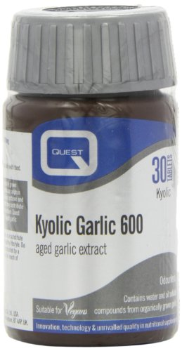 Quest Organic 600mg Kyolic Japanese Odourless Garlic Reserve - Pack of 30 Tablets