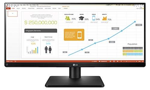 LG 34UB67-B.AEU 86,4 cm (34 Zoll) PC-Monitor (IPS, 21:9, DVI, HDMI, Display Port , USB 3.0)