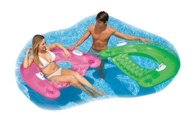 Intex Sit N Float Lounge (Colors May Vary)