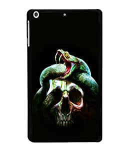 printtech Skull Snake Venom Back Case Cover for Apple iPad Mini 3