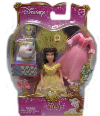 Buy Low Price Mattel Disney Precious Princess Collectible – Belle Figure (B000JLVS5Q)