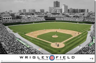 Chicago Cubs Wrigley Field Framed Print
