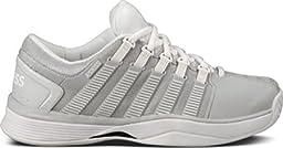 K-Swiss Hypercourt Women\'s Tennis Shoes (Glacier Grey/White) (6 B(M) US)