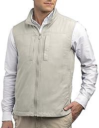 SCOTTeVEST Men\'s Featherweight Vest - 14 Pockets - Travel Clothing CMT L