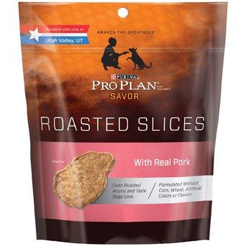 Pro Plan Savor Pork Roasted Slices Dog Treats, 16 Oz.