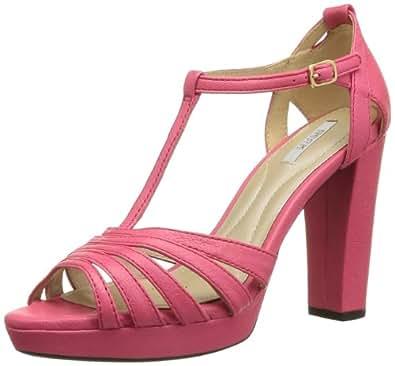 Geox D New Egizia C, Sandales de marche femme, Rose (Fushia), 39.5