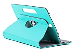 DOMO nCase B9 Smart Cover Carry Case For 7 inch Tablet PC With 360 Degree Rotation Tablet Stand And Camera Holes - Light Blue