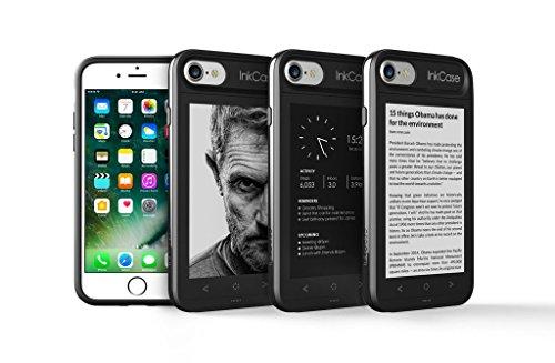 背面をセカンドスクリーンにできるiPhone 7用ケース「InkCase i7」