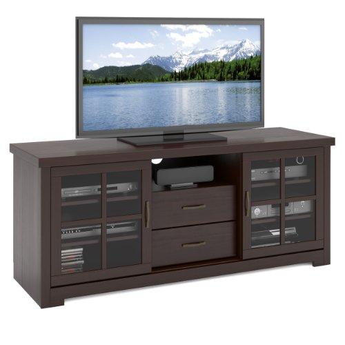 Corliving Twb-692-B West Lake Television Bench, 60-Inch, Dark Espresso