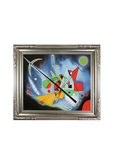 Wassily Kandinsky Blue Painting Framed Hand-Painted Reproduction