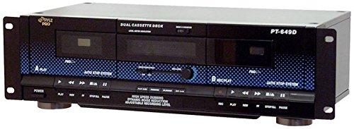 Pyle Home PT649D Dual Cassette Deck