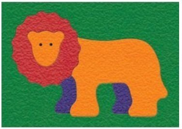 Cheap Fun Lauri 1969 Crepe Rubber Puzzle – Lion- Pack of 2 (B005GVB408)
