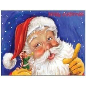 Weihnachtskarte weihnachtskarten weihnachtsmannkarte weihnachten geschenk geschenkkarte - Weihnachtskarten amazon ...