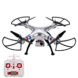 Voomall Syma X8G Headless 2.4Ghz 4CH 6 Axis RC Drone Quadcopter With 8MP 1080P HD Camera [US in Stock]