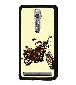 ifasho Designer Phone Back Case Cover Asus Zenfone 2 ZE551ML ( Black and White Pattern Design )