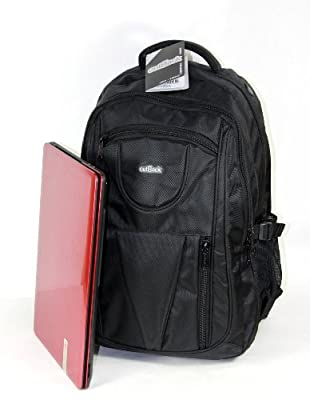 "19"" Laptop Backpack Rucksack Business College Flight Cabin Bag ***Size: 55(h) x 37(w) x 20(d) cm***Access your laptop without opening your whole backpack*** from Greensitts"