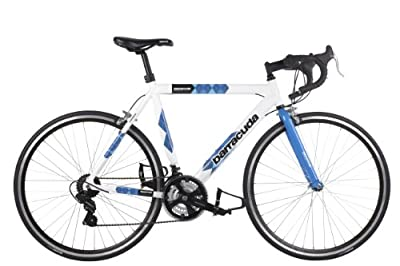 Barracuda Men's Team Bike Road Bike - White/Blue ( Wheel 700C, Frame 22 1/2 Inch)