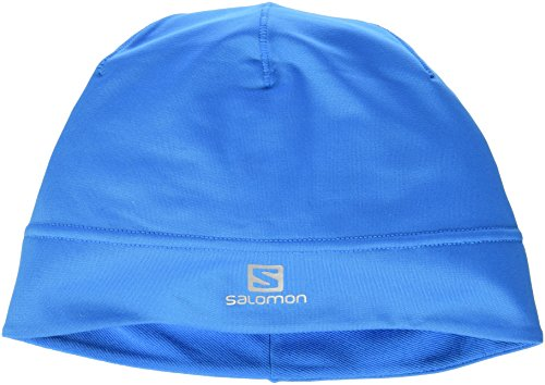 Salomon - Berretto Active W, Donna, Mütze Active Beanie W, Blu - Methyl Blue, taglia unica