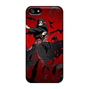 Tpu Itachi Uchiha Pattern Protector Case Protective Cover For Iphone 5/5s