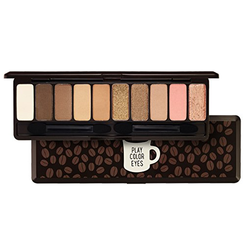 ETUDE HOUSE Play Color Eyes In The Cafe 10 Color Palette (Hot Item In Korea)