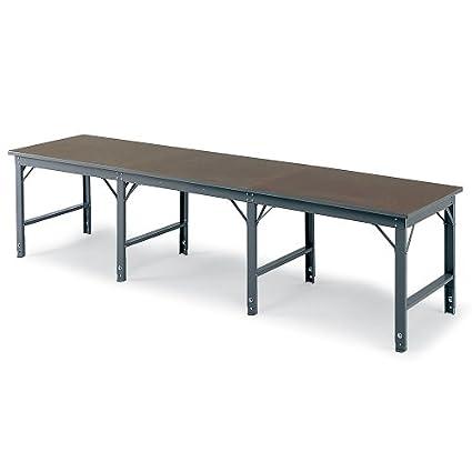 """Pow-R-Pax Production Table - 4'Wx72""""D Top - Add-On Unit - Plastic laminate"""