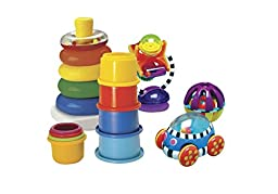Childcraft Five Baby Discovery Toys