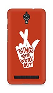 AMEZ things will work out Back Cover For Asus Zenfone C ZC451CG