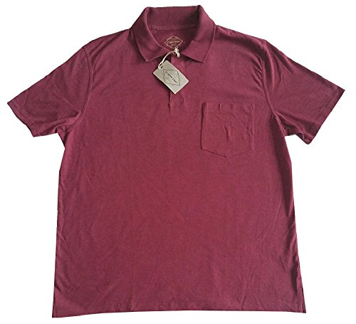 mens-st-johns-bay-short-sleeve-pocketed-polo-shirt-rhododendron-heather-l