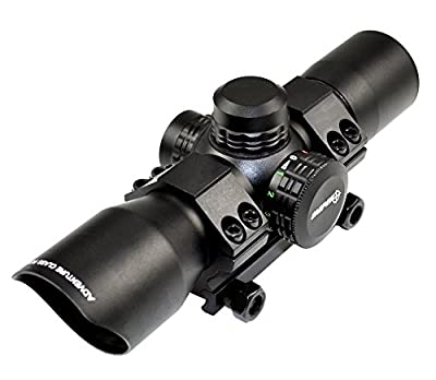 SNIPER Compact Scope Red/green Dot, Superior quality precision lens, Aircraft, One Tube Build up, Ring Mount Include by Sniper