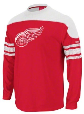 NHL Detroit Red Wings Shootout Team Long Sleeve