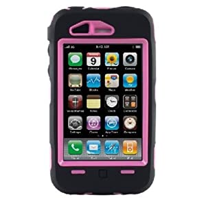 OTTERBOX Defender Series Case for iPhone 3G/3GS - Non-Retail Packaging - 1 Pack - Non-Retail Packaging - Black/Pink