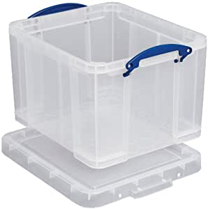 Really Useful Box 64C 64L Box Transparent 710x440x310 mm PP