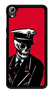"""Humor Gang Captain Skully Printed Designer Mobile Back Cover For """"HTC DESIRE 826"""" (3D, Glossy, Premium Quality Snap On Case)"""