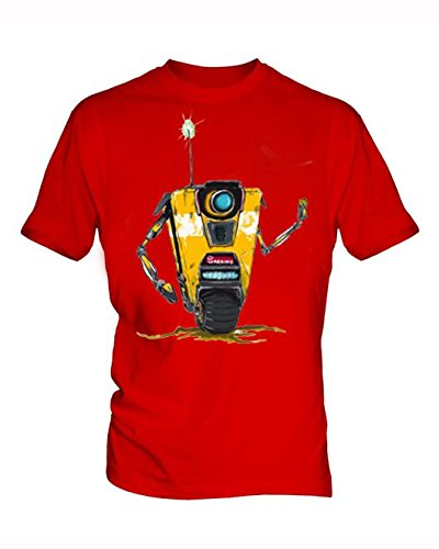 Borderlands 8 Uomo Red T Shirt