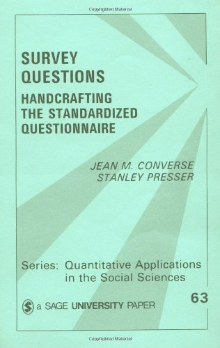 Survey Questions: Handcrafting the Standardized...