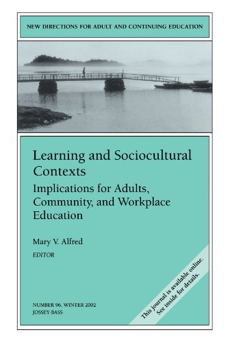 Learning and Sociocultural Contexts: Implications for...
