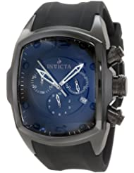 Invicta Men's 0312 Lupah Revolution Chronograph Black Dial Watch
