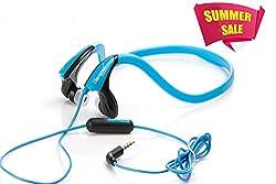 Hangout {MY SOUND} SPORTS Back Neck STEREO HEADSPHONES-HSR-54-Blue