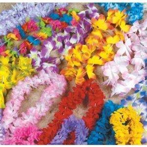 Click to buy Mega Silk Lei Assortment (50 ct) for Tropical Hawaiian Luau Party Favorsfrom Amazon!