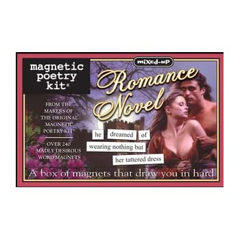 Mixed-Up Romance Novel Magnetic Poetry Kit